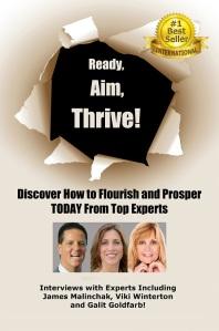 Ready aim Thrive book cover