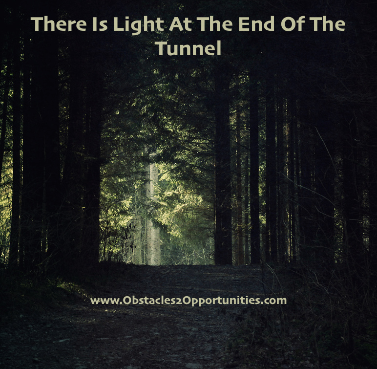 There is light at end of tunnel